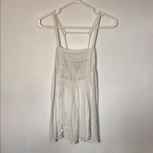 American Eagle Women's Embroidered Tank